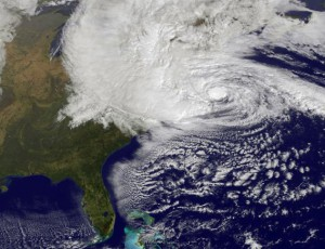 Hurricane Sandy is a  huge disaster!