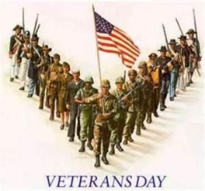 Veteran's Day is November 11, 2012