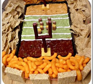 Gridiron chips and dips